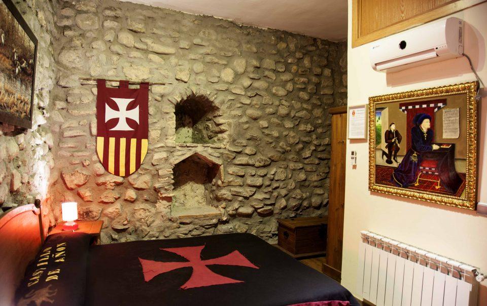 Habitación Marques de Santillana Castillo de Añón