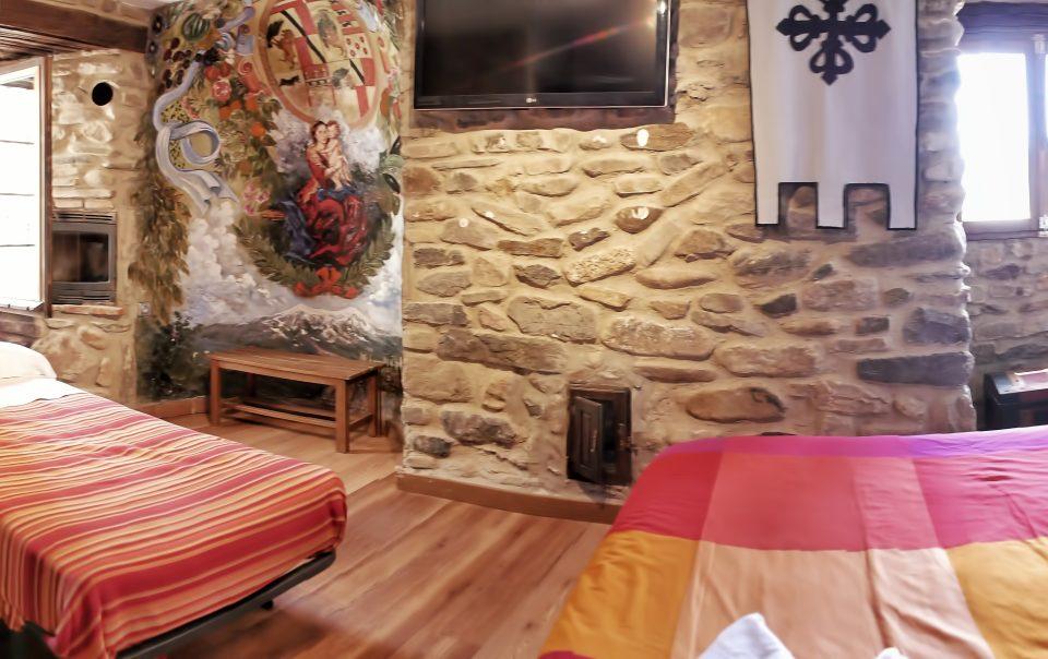 Habitación de la Virgen Castillo de Añón