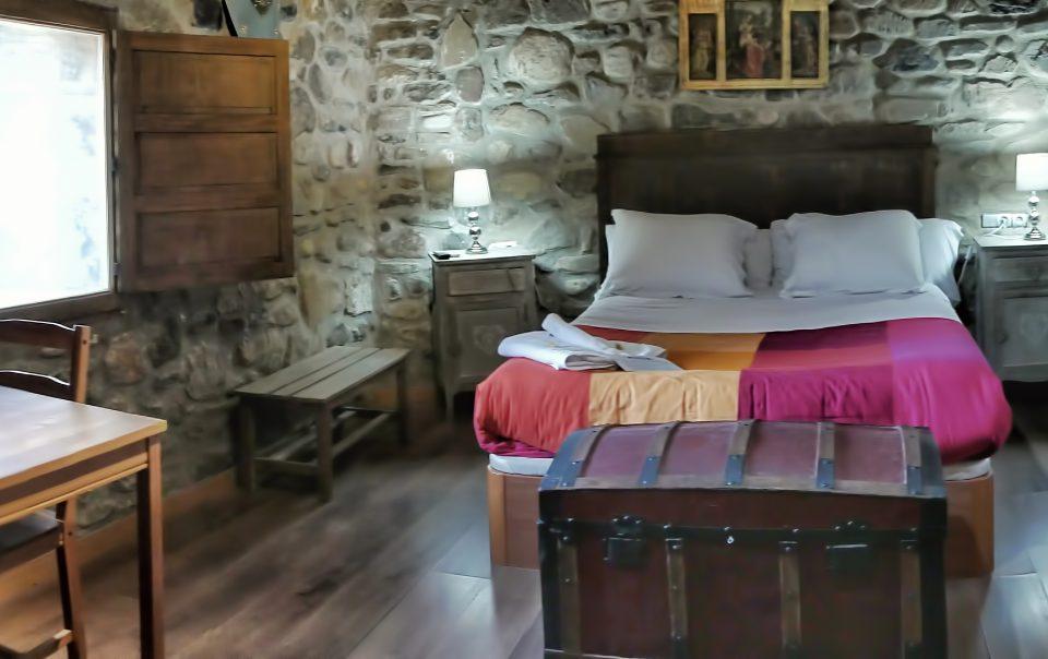 habitación de Santiago Castillo de Añón
